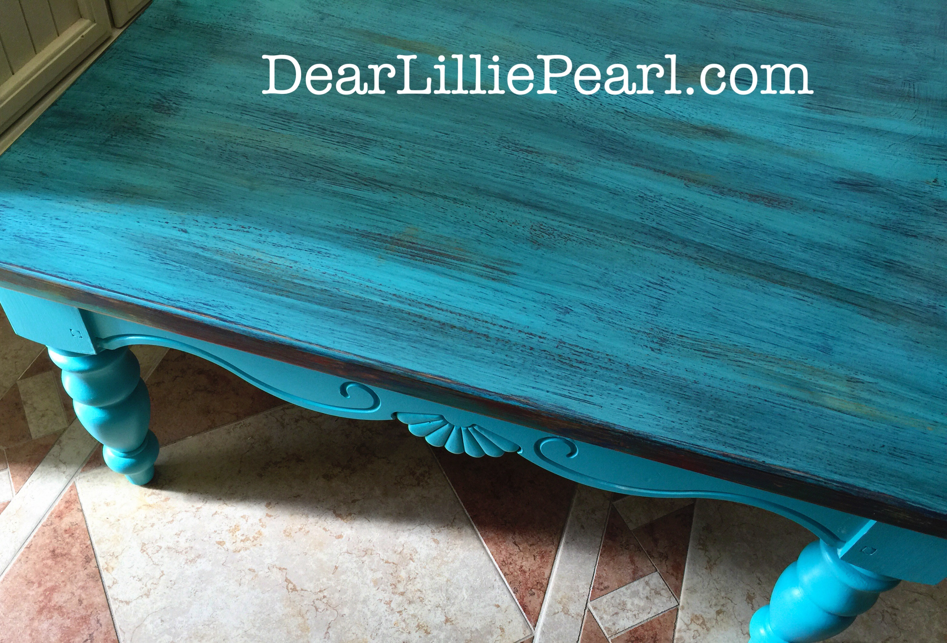 Turquoise Coffee Table Projects